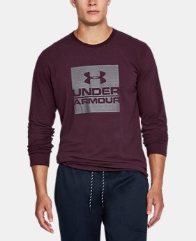 New Arrival  Men's UA Boxed In Long Sleeve T-Shirt  3 Colors $34.99