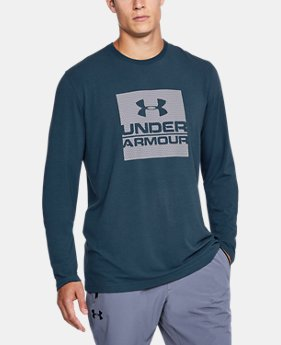 Men's UA Boxed In Long Sleeve T-Shirt  4 Colors $29.99