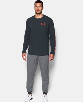 Men's UA Sleeve Hit Long Sleeve T-Shirt  3 Colors $29.99
