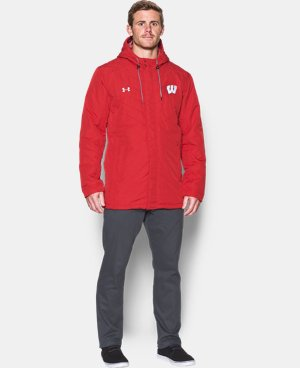 Men's Wisconsin UA Storm Parka  1 Color $144.49