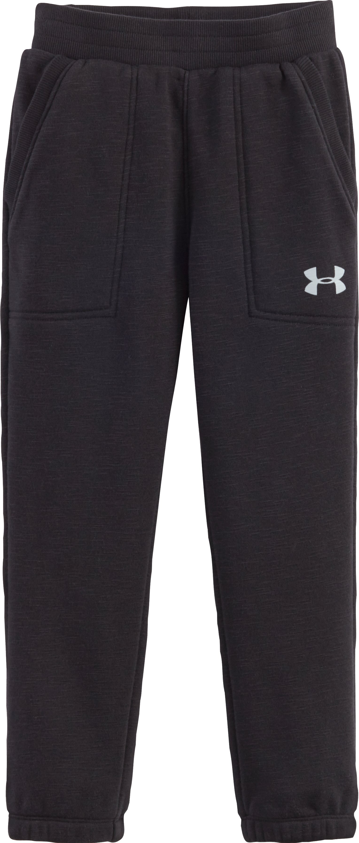 Boys' Pre-School UA French Terry Joggers, Black