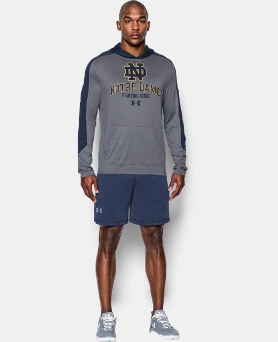 Men's Notre Dame UA Tech™ Hoodie  1 Color $49.99