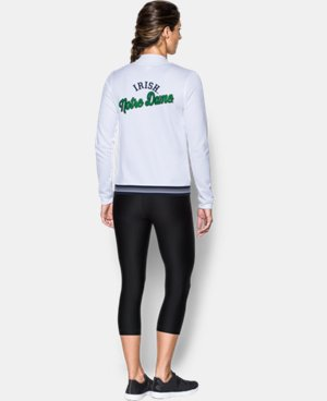 New Arrival Women's Notre Dame Four Hit Jacket  1 Color $89.99