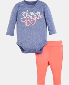 New Arrival Girls' Newborn UA Shine Bright Set LIMITED TIME: FREE U.S. SHIPPING 1 Color $34.99