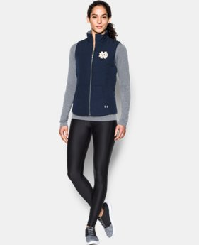 Women's Notre Dame Puffer Vest LIMITED TIME: FREE U.S. SHIPPING 1 Color $89.99