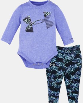 New Arrival Girls' Newborn UA Galaxy Logo Set LIMITED TIME: FREE U.S. SHIPPING 1 Color $34.99
