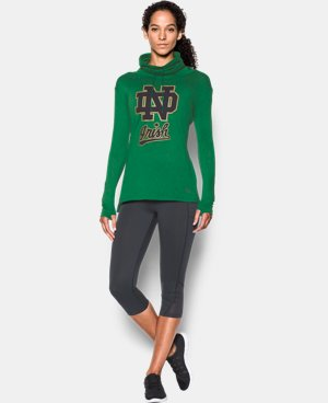 Women's Notre Dame UA Tech™ Cowl Long Sleeve LIMITED TIME: FREE U.S. SHIPPING 1 Color $54.99