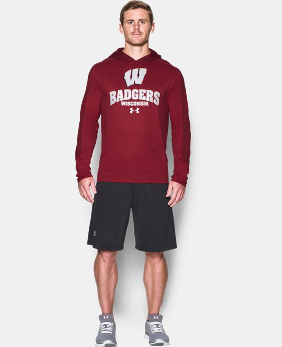 Men's Wisconsin UA Tech™ Hoodie  1 Color $49.99
