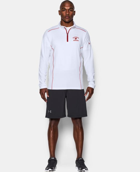 Men's Wisconsin UA Golf ¼ Zip   $64.99