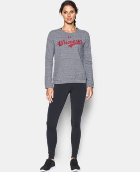Women's Wisconsin Fleece Crew  1 Color $59.99