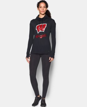 New Arrival Women's Wisconsin UA Tech™ Cowl Long Sleeve  1 Color $54.99