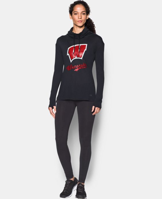 Women's Wisconsin UA Tech™ Cowl Long Sleeve LIMITED TIME: FREE U.S. SHIPPING 1 Color $54.99