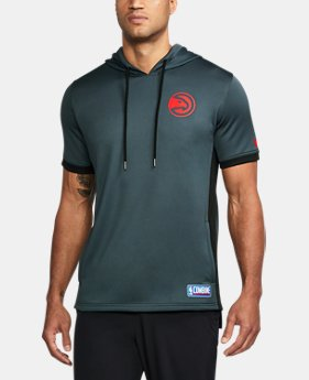 New Arrival Men's NBA Combine UA Baseline Short Sleeve Hoodie  20 Colors $70