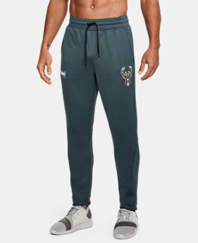 Men's NBA Combine UA Baseline Tapered Pants  2  Colors Available $80