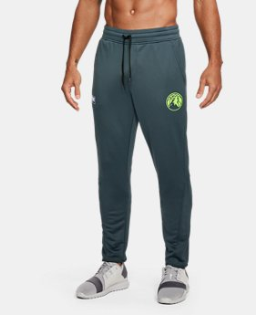 Men's NBA Combine UA Baseline Tapered Pants   $80