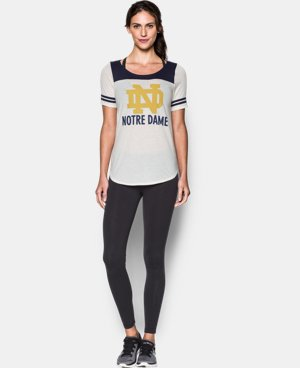 Women's Notre Dame UA Iconic Collection Jersey T-Shirt LIMITED TIME: FREE U.S. SHIPPING 1 Color $29.99