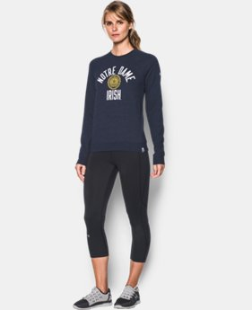 New Arrival Women's Notre Dame Iconic Crew Sweatshirt LIMITED TIME: FREE U.S. SHIPPING 1 Color $74.99