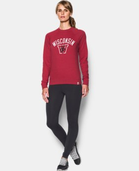 Women's Wisconsin Iconic Crew Sweatshirt LIMITED TIME: FREE U.S. SHIPPING 1 Color $56.99