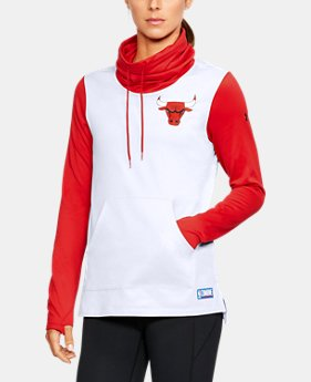 Women's NBA Combine Authentic Cowl Neck Fleece   $56
