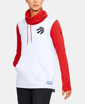 Women's NBA Combine Authentic Cowl Neck Fleece  3 Colors $80