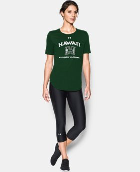 New Arrival Women's Hawaii Charged Cotton® Short Sleeve T-Shirt  1 Color $29.99