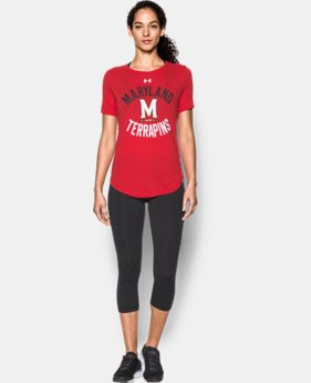 New Arrival Women's Maryland Charged Cotton® Short Sleeve T-Shirt LIMITED TIME: FREE SHIPPING  $29.99