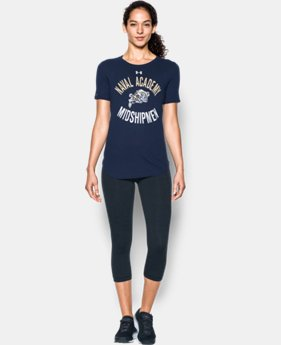 Women's Navy Charged Cotton® Short Sleeve T-Shirt   $29.99