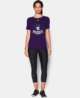 New Arrival Women's Northwestern Charged Cotton® Short Sleeve T-Shirt  LIMITED TIME: FREE SHIPPING 1 Color $29.99