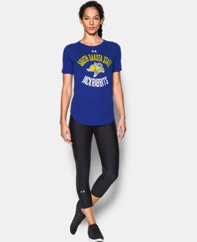 New Arrival Women's South Dakota State Charged Cotton® Short Sleeve T-Shirt LIMITED TIME: FREE SHIPPING  $29.99