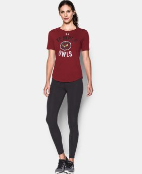 Women's Temple Charged Cotton® Short Sleeve T-Shirt   $29.99