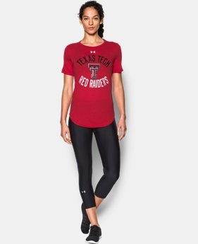 Women's Texas Tech Charged Cotton® Short Sleeve T-Shirt  1 Color $29.99
