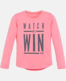 New Arrival Girls' Infant UA Watch Me Win Long Sleeve   $22.99