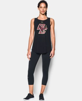 New Arrival Women's Boston College Charged Cotton® Tie Tank   1 Color $34.99