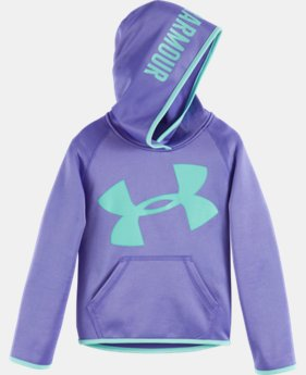 Girls' Pre-School UA Jumbo Logo Hoodie LIMITED TIME OFFER + FREE U.S. SHIPPING 1 Color $39.99