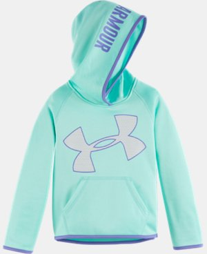 New Arrival Girls' Pre-School UA Jumbo Logo Hoodie LIMITED TIME OFFER + FREE U.S. SHIPPING 1 Color $39.99