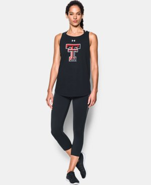 Women's Texas Tech Charged Cotton® Tie Tank  LIMITED TIME: FREE U.S. SHIPPING 1 Color $34.99
