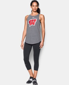 Women's Wisconsin Charged Cotton® Tie Tank  LIMITED TIME: FREE U.S. SHIPPING  $34.99