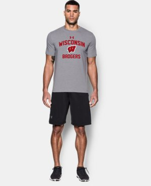 Men's Wisconsin Charged Cotton® T-Shirt   $29.99
