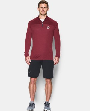 Men's Boston College UA Tech™ Printed ¼ Zip  1 Color $59.99