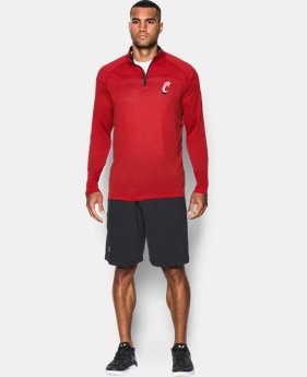 Men's Cincinnati UA Tech™ Printed ¼ Zip  1 Color $59.99