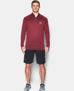 Men's South Carolina UA Tech™ Printed ¼ Zip  1 Color $59.99