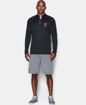 Men's Texas Tech UA Tech™ Printed ¼ Zip  1 Color $59.99