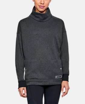 Women's UA SweaterFleece Funnel Neck  1 Color $99.99
