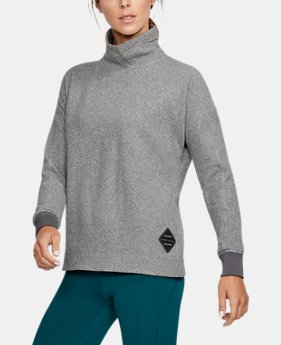 PRO PICK Women's UA SweaterFleece Funnel Neck  1 Color $89.99