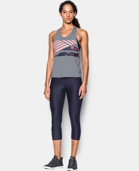 Women's UA Armour Sport Swing Graphic Tank  1 Color $44.99