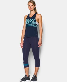 Women's UA Armour Sport Swing Graphic Tank  1 Color $39.99