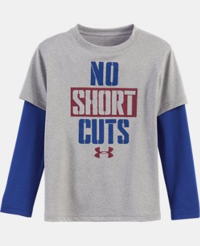 New Arrival Boys' Pre-School UA No Shortcuts Slider LIMITED TIME: FREE U.S. SHIPPING  $29.99