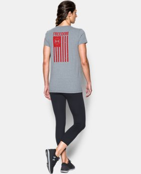 Women's UA Freedom Flag 2.0 T-Shirt LIMITED TIME: FREE U.S. SHIPPING 1  Color Available $24.99