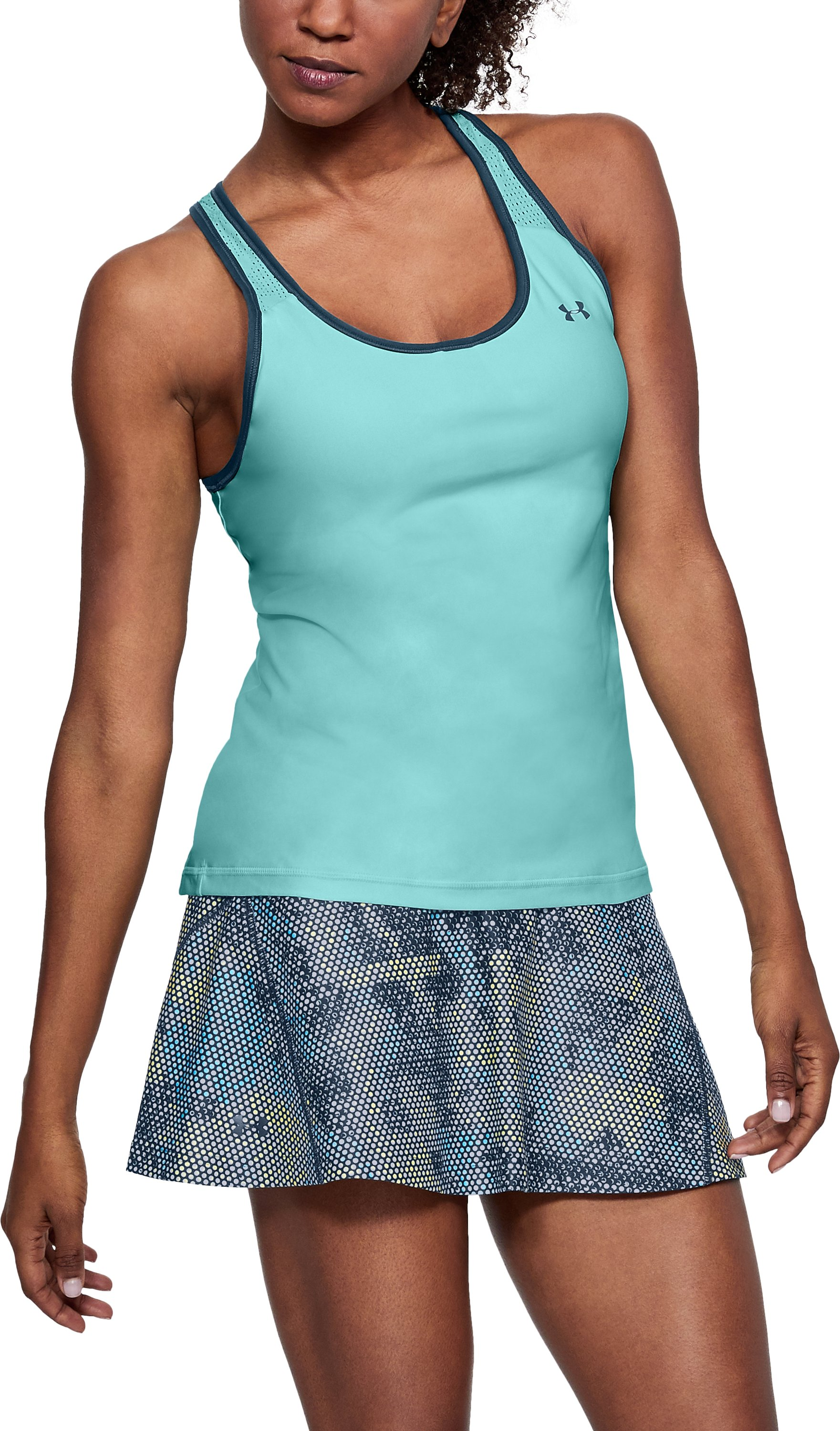 Women's UA Center Court Tank, BLUE INFINITY