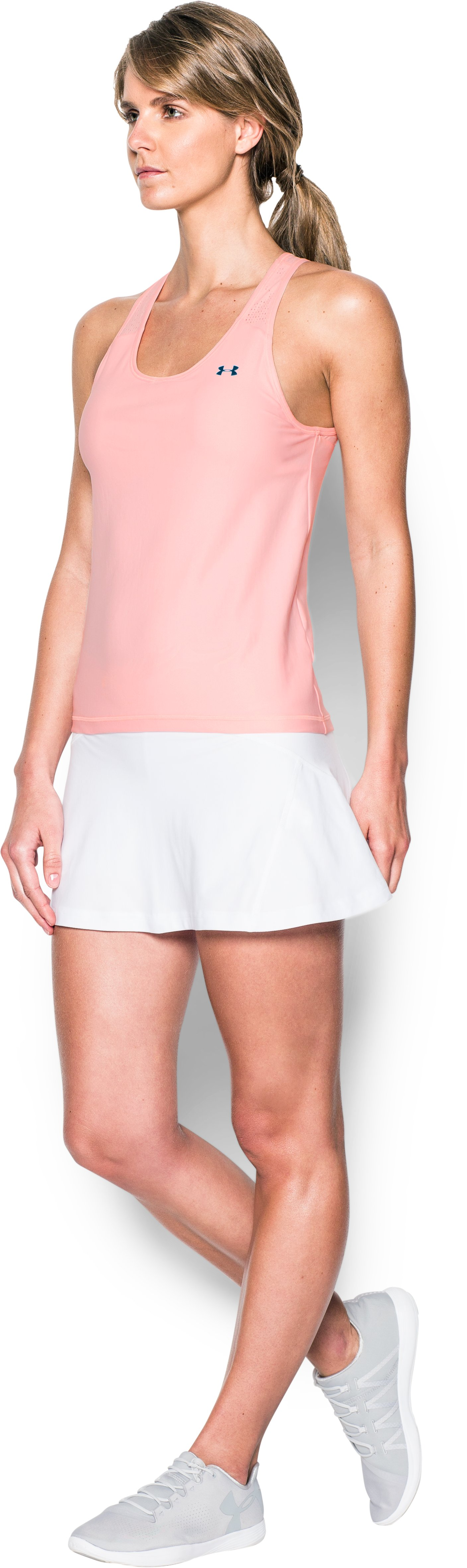 Women's UA Center Court Tank, BALLET PINK,